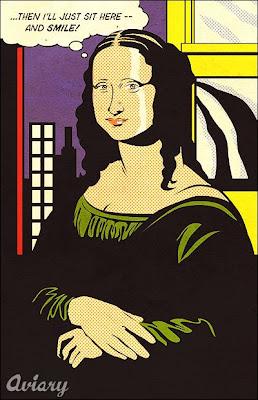 Rayel 7 la mona lisa hecha por otros artistas - Roy lichtenstein cuadros ...