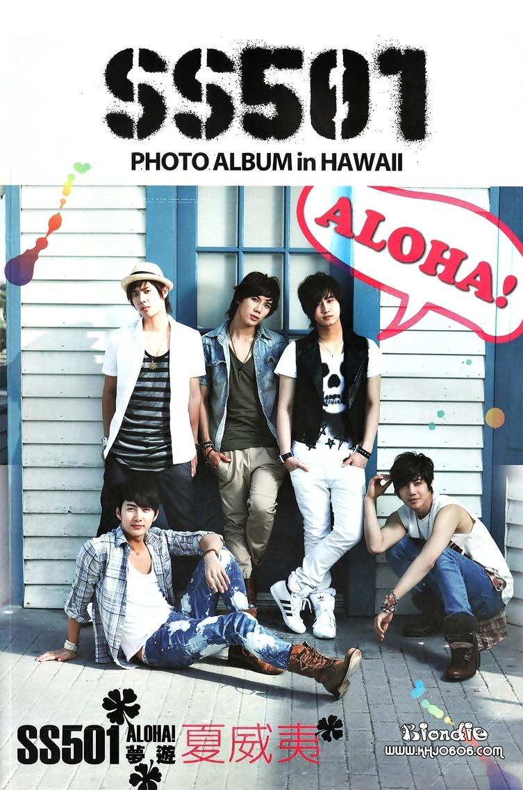 SS501 - Hawaii Foto�raflar�