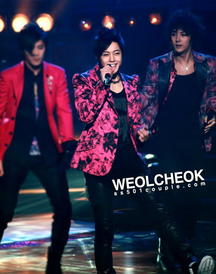 SS501 in Music Core �� Love Like This �� 28/11/2009