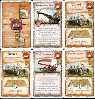 Ukázka velitelských karet