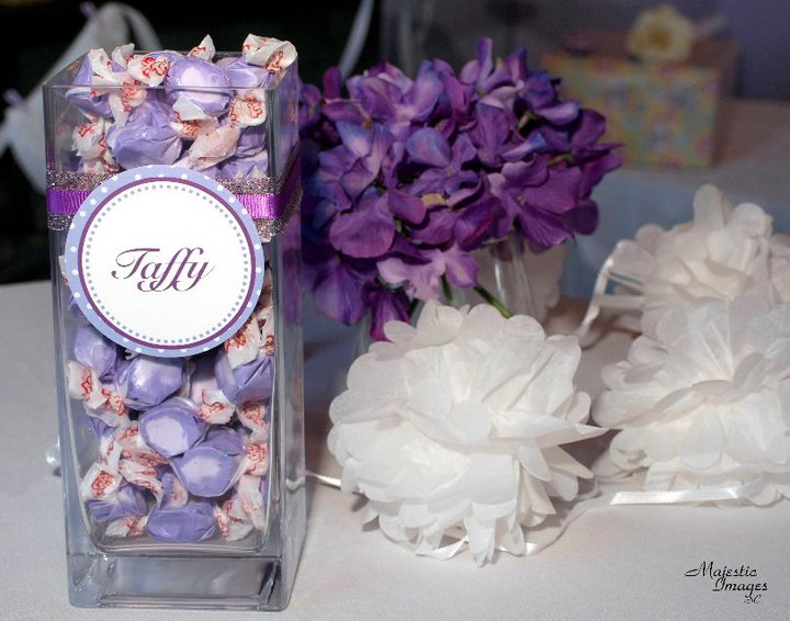 Pluff Mudd Studio: Perfect Purple Baby Shower