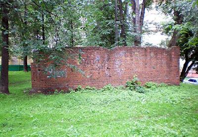ruins of a kindergarten