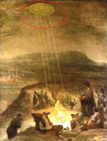 OVNIS en la Biblia Bautismo_cristo