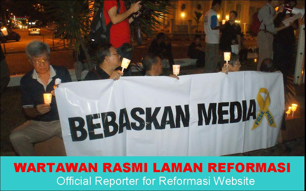 WARTAWAN RASMI LAMAN REFORMASI