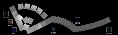 Portarretrato Voyager 1, 1990