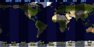 Mapa 30 noches