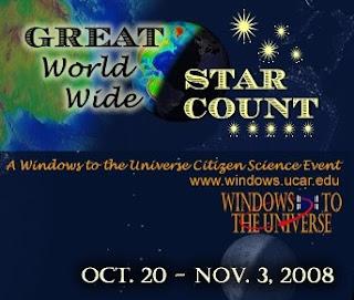 Segundo Gran Conteo mundial de estrellas Ventanas al Universo