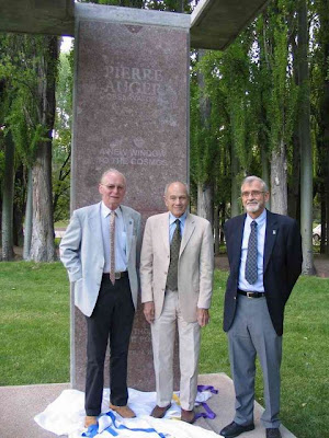 Jim Cronin, Alan Watson y Paul Mantsch