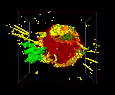 Imagen de Animación 3-D de Cas A