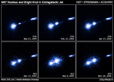 Núcleo u nudo de gas HST-1 en M87
