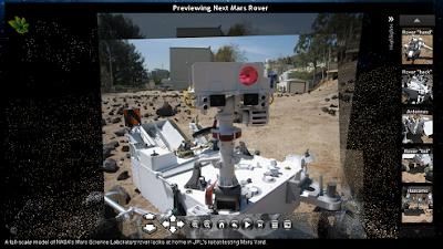 NASA Photosynth Rover