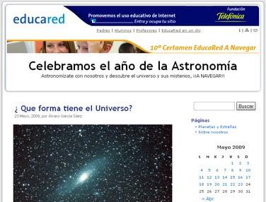 Blog celebramos el año de astronomía