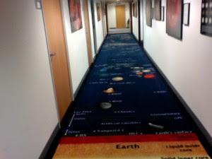 El universo en una alfombra
