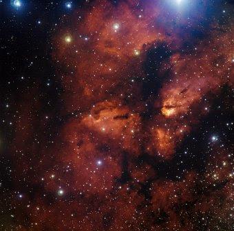 RCW 38 y nebulosa