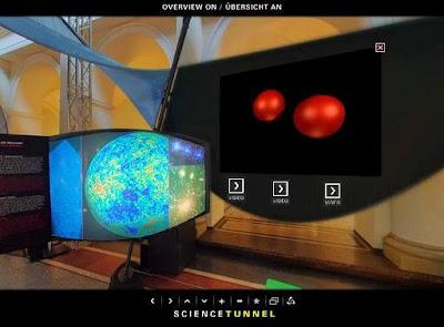 Tour interactivo del Túnel de la ciencia