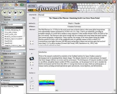 eJournal en EdGCM