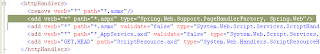 PageHandlerFactory HTTP handler