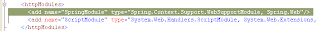 WebSupportModule HTTP module