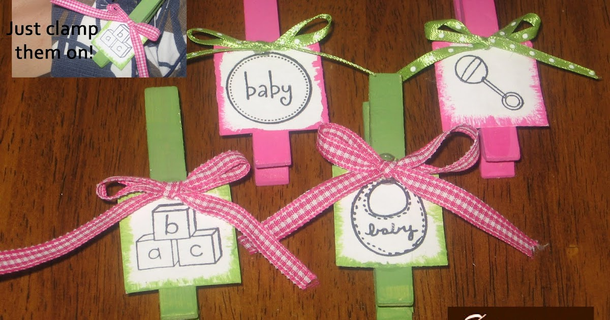 simpsonized crafts baby shower clothespin favors