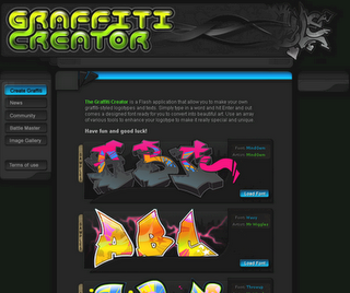 graffiti art creator maker