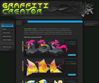 graffiti art creator maker