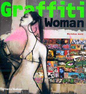 book graffiti woman sample cover - graffiti cover design
