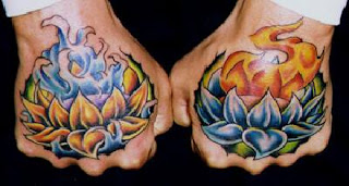 hand tattoos design