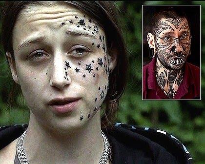 face star tattoo girl. Celebrity tattoos; Star Tattoo Face Girl. Women tattoos star on face; Women tattoos star on face