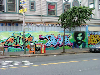 Street Art Graffiti Letter People