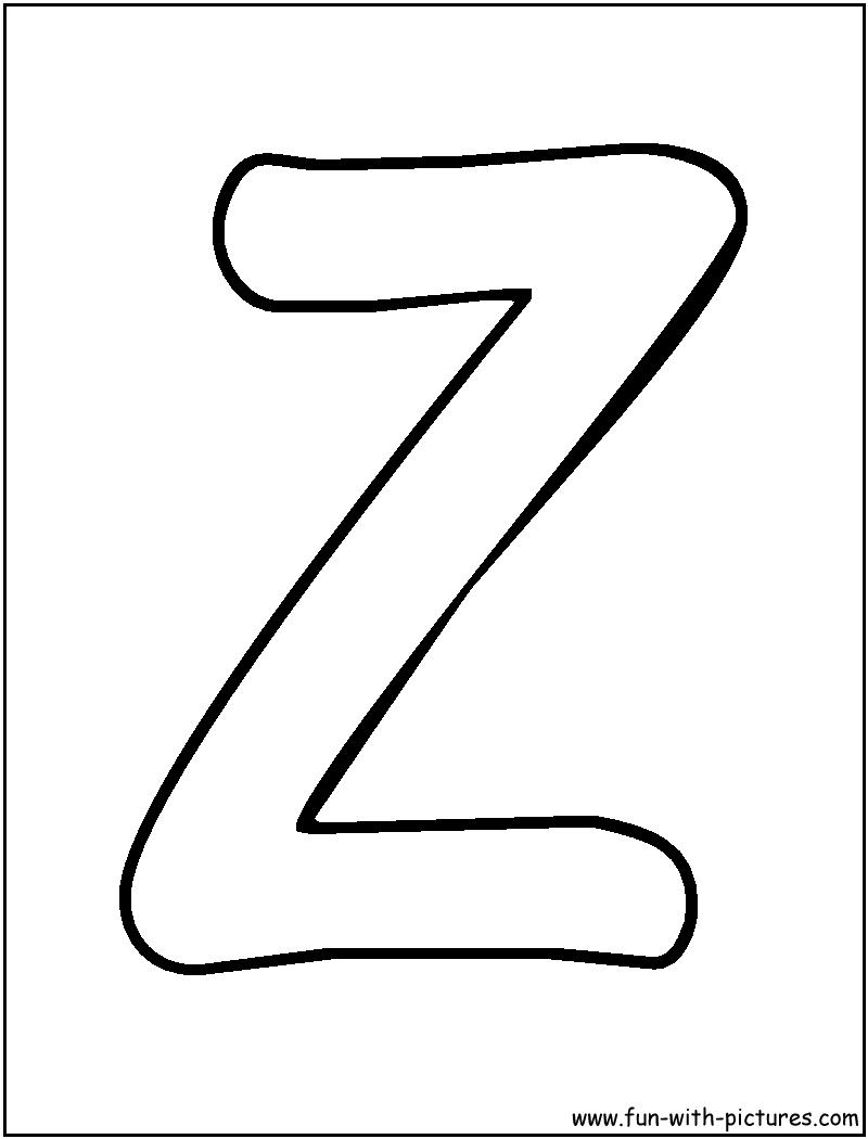 Graffiti Walls Letters Z Alphabet Design
