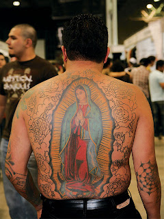 lower back tattoos virgin marry