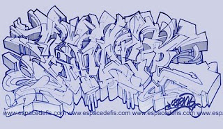 Graffiti Sketches Art