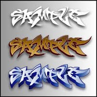 Sample Graffiti Effects