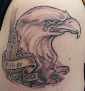eagle tattoos, tattooing
