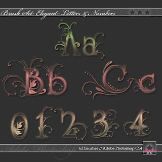 graffiti alphabet letters and 26 numbers