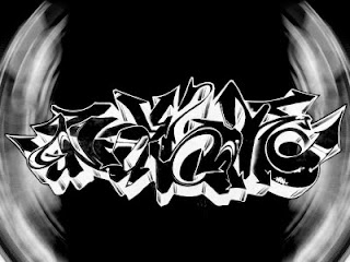 graffiti black and white ideas