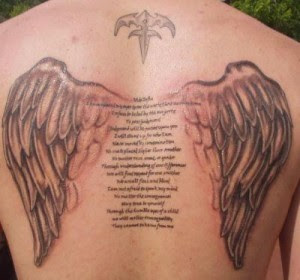angel wing tattoos design