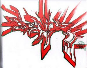mr wiggless graffiti alphabet