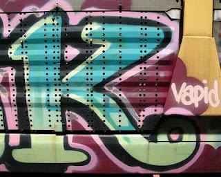 graffiti letters K alphabet design