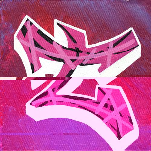 Graffiti walls graffiti letters t simple design - Graffiti simple ...