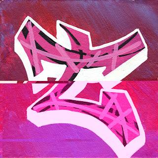 Graffiti Alphabet letters T