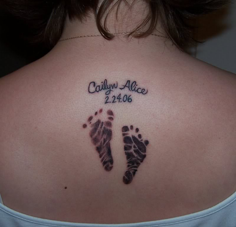 Tattoo Ideas For Your Child: Iokoio: Baby Tattoo Ideas For Moms