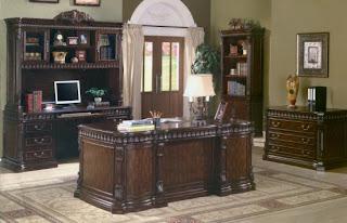 home interior office desk