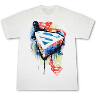 Superman Graffiti T shirt