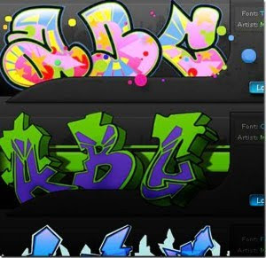 graffiti fonys ABC ideas