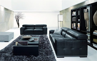fresh black and white living rooms