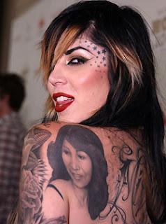 kat von d face tattoos artis