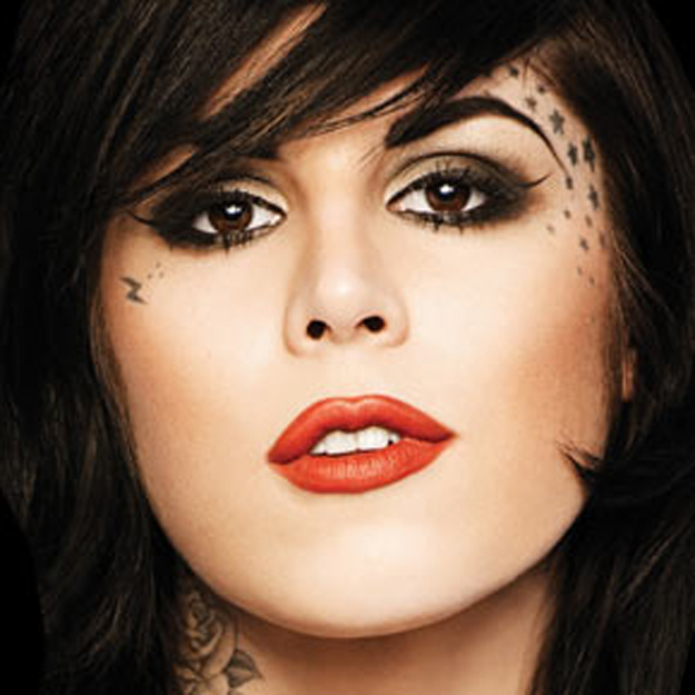 kat von d tattoos. Face Tattoos Artist quot; Star
