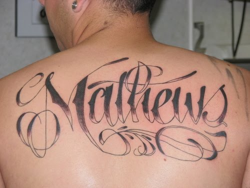 Name Tattoos