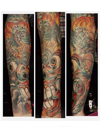 tattoo sleeve art. Slip on Fake Sleeve Tattoos